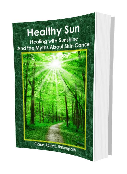 healthy sun book by case adams