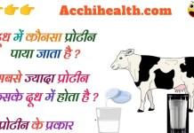 दूध में कौन सा प्रोटीन पाया जाता है ? dudh mein kaun sa protein paya jata hai . प्रोटीन किस से मिलता है ? प्रोटीन कितने प्रकार के होते है ?