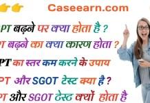 sgpt in hindi. sgpt बढ़ने पर क्या होता है ? SGPT बढ़ने का क्या कारण होता ? कैसे एसजीपीटी का स्तर कम करने के लिए ।