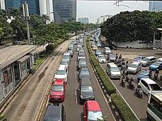 Normal Jakarta traffic