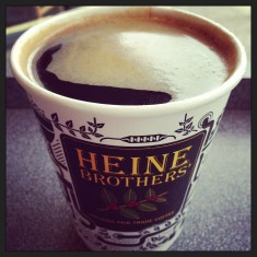 Heine Brothers - I miss you, and Quills, Sunergos, Highland Coffee etc.