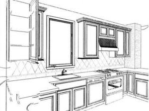 Kitchen Elevation Case Design/Remodeling