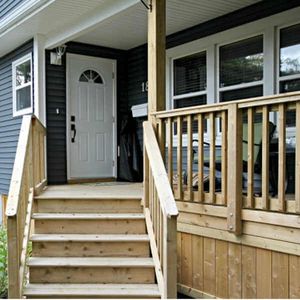 second story addition front porch