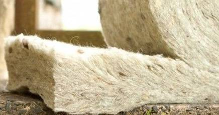 Esempio di isolante in lana di pecora.