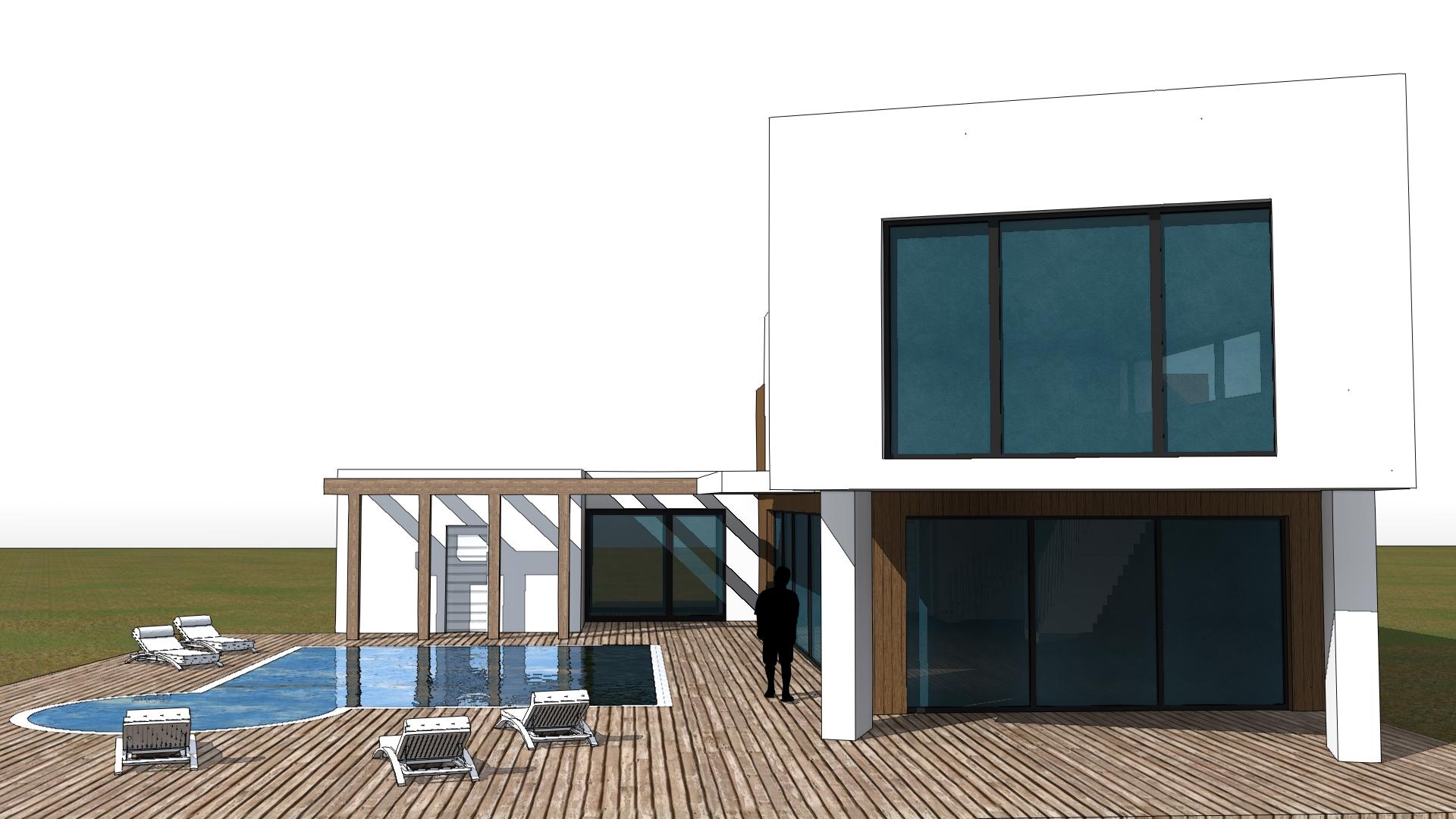 Casa in Legno - Stile Moderno - Cesena