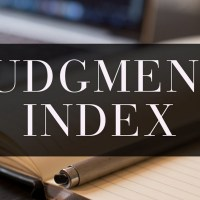 Judgment Index Search Casenet