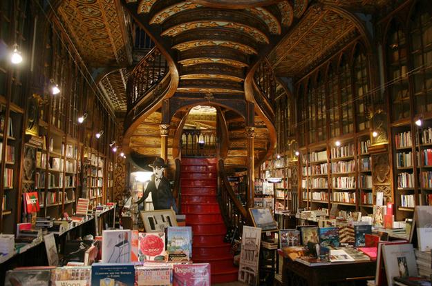 librairie lello porto