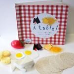 A table ! / Céline Monchoux et Camille Galloy. Les Doigts qui rêvent