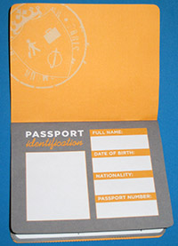 Passport - CASE OF ADVENTURE .COM