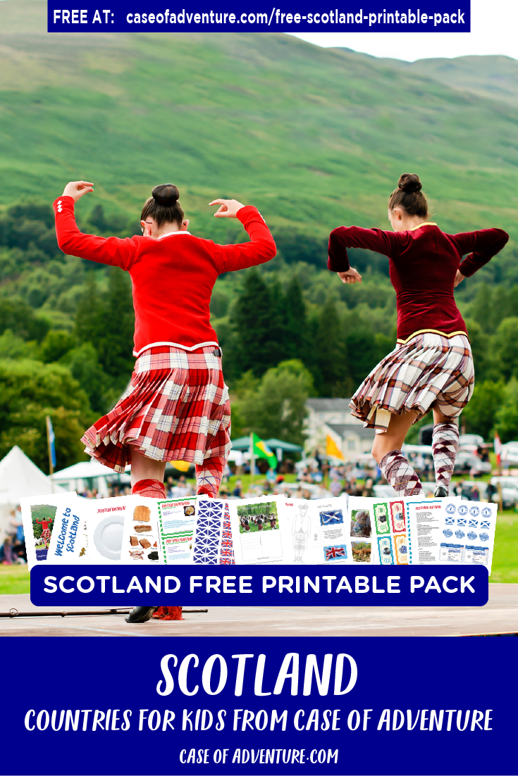 Free Scotland Printables - Case of Adventure .com