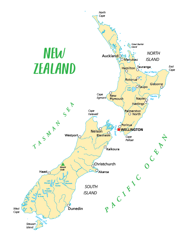 New Zealand Adventure - Case of Adventure .com