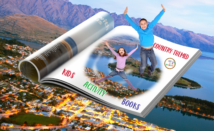 Countries for Kids with CASE OF ADVENTURE