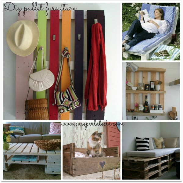 Arredo con pallets di legno diy pallets furniture for Pallet idee arredo