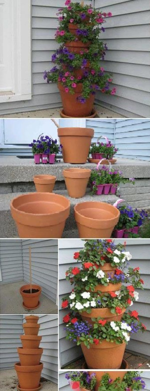 Idee giardino fai da te low cost diy garden ideas on a - Low cost landscaping ideas ...