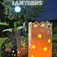Lanterne di carta fai da te per le sere d'estate * DIY paper lanterns for summer nights