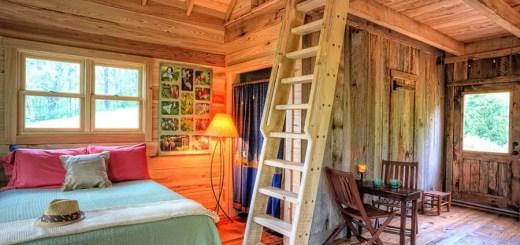 Amenajarea unei cabane rustice in pasi usori