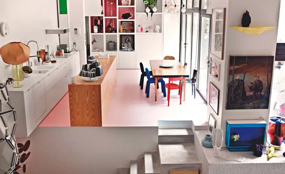 Apartamentul din garaj in Paris