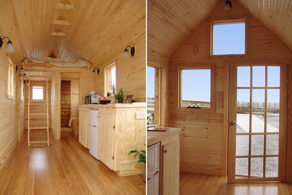 Idei de case mici din lemn foarte practice