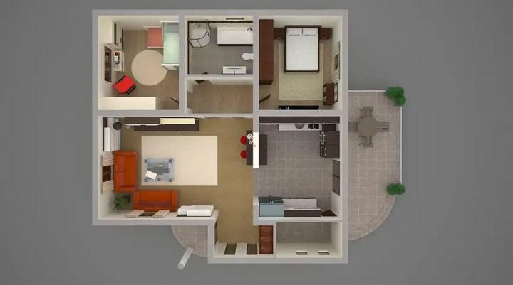 Proiecte de casa cu minimansarda pentru relaxare