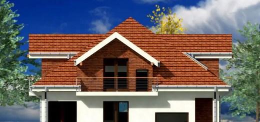 Proiecte de case mici cu mansarda