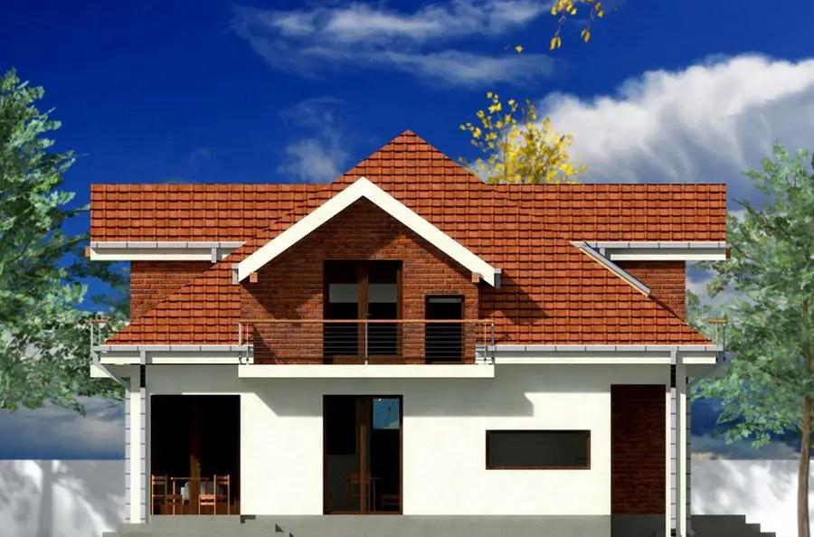 Proiecte de case mici cu mansarda locuinte de vis fara for Attic house plans