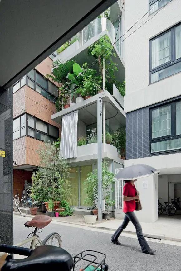 case mici in stil japonez sticla
