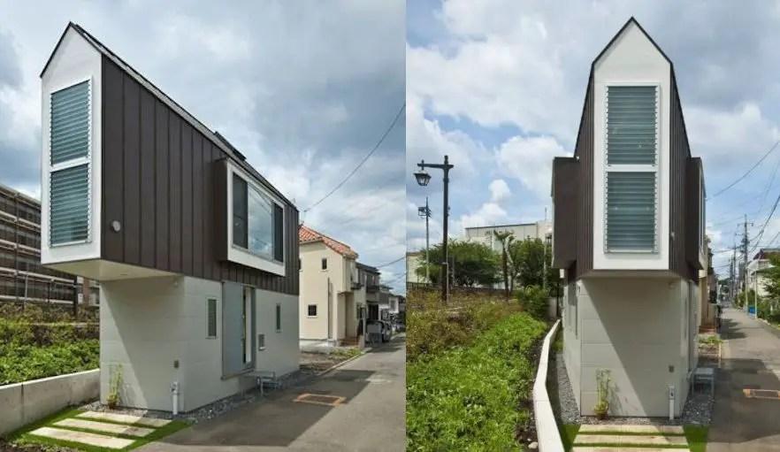 case mici in stil japonez cu etaj