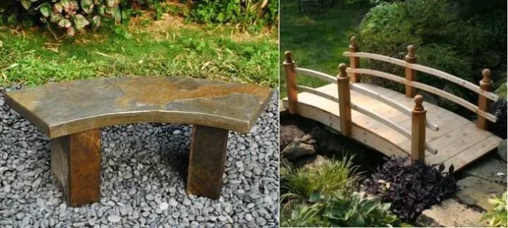 mobilier de gradina in stil japonez pentru relaxare