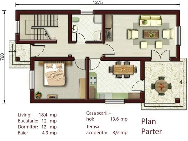 Proiecte de case daca vrei sa stai cu socrii impreuna