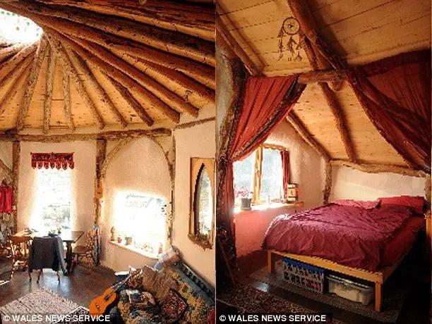 Casa hobbitului in natura