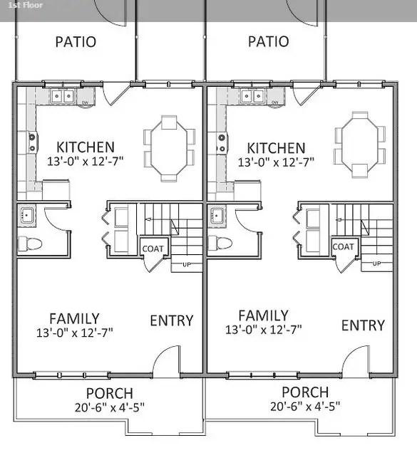 Proiecte de case duplex cu mansarda la oras