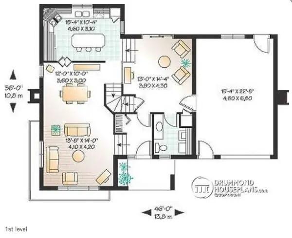 Case in stil mediteranean cu buget redus Affordable Mediterranean house plans 2