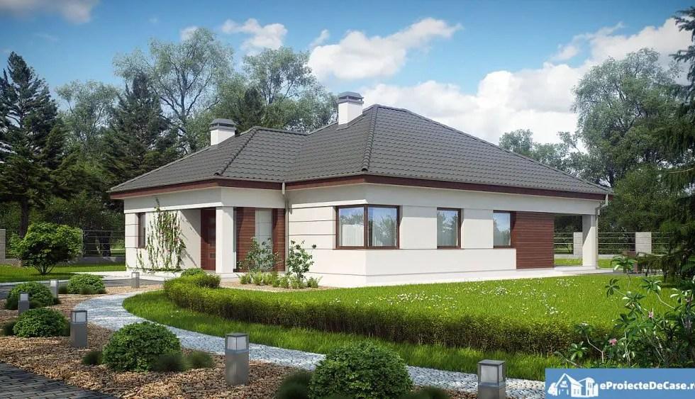 Proiecte de case cu bucatarii mari si spatioase