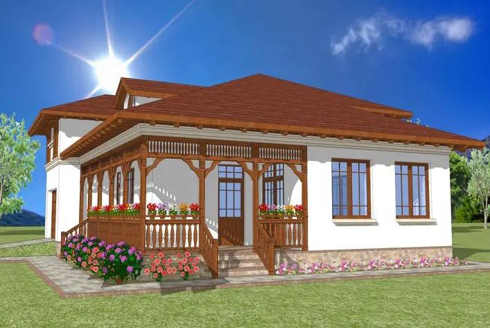 Proiecte de case in stil neoromanesc traditionale