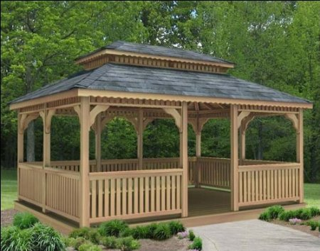 Proiecte de foisoare din lemn How to build a gazebo from wood 8