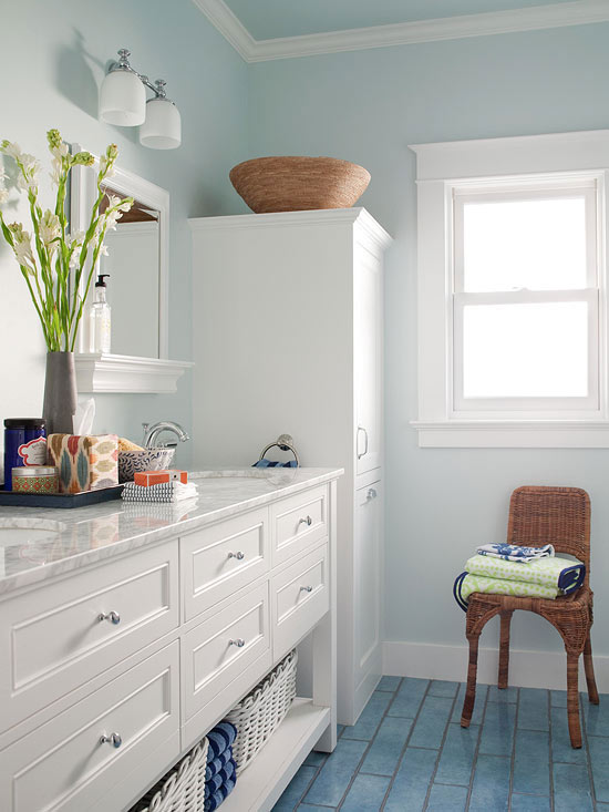 Culori Potrivite Baie Mica Color Ideas For Small Bathrooms  Cocheta