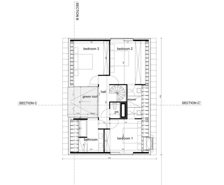 Proiecte de case in stil belgian Flemish style house plans 8