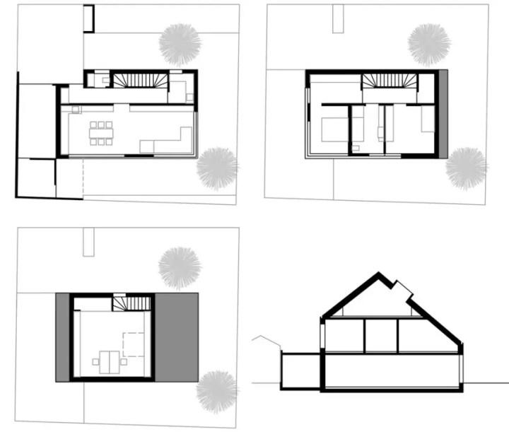 Proiecte de case in stil german sobru