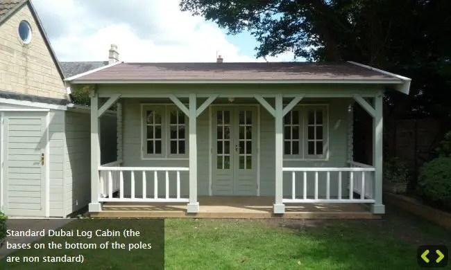 casute de gradina cu terasa Garden summer houses with verandas 7