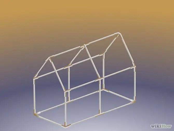 construirea unei minisere How to build a mini greenhouse 3
