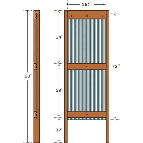 construirea unui dus de gradina how to build an outdoor shower 3