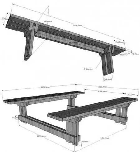 mobilier din paleti pentru gradina pallet outdoor furniture instructions 4