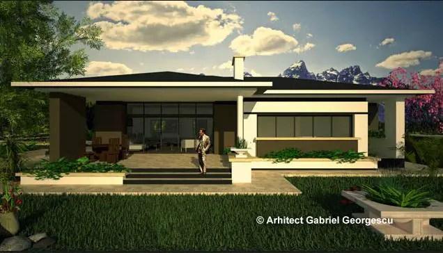 proiecte de case cu terase acoperite spatiu pentru familie On modele case cu terase acoperite