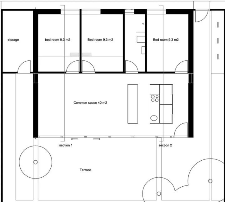 proiecte de case in stil danez Danish style house plans 8