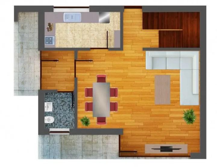 Proiecte de case mici cu 2 dormitoare 2 bedroom house plans 7