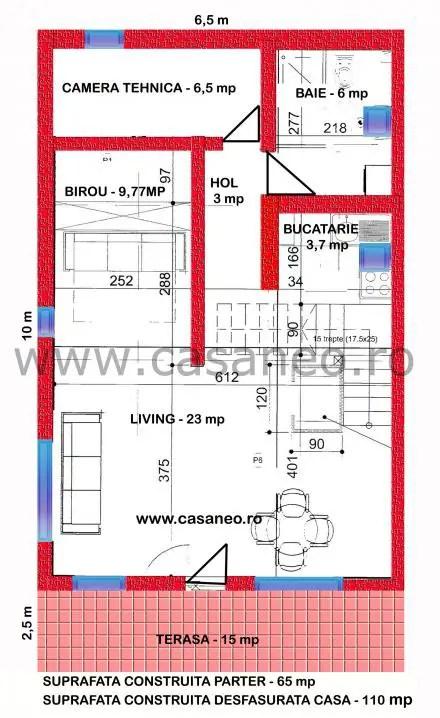 case pe structura de lemn wood frame structure houses 9