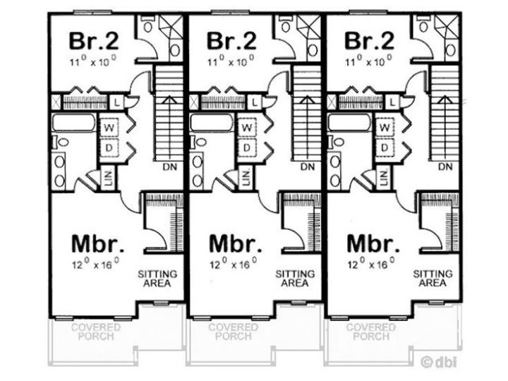 case pentru trei familii three family house plans 3