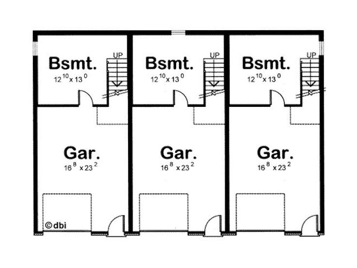 case pentru trei familii three family house plans 4
