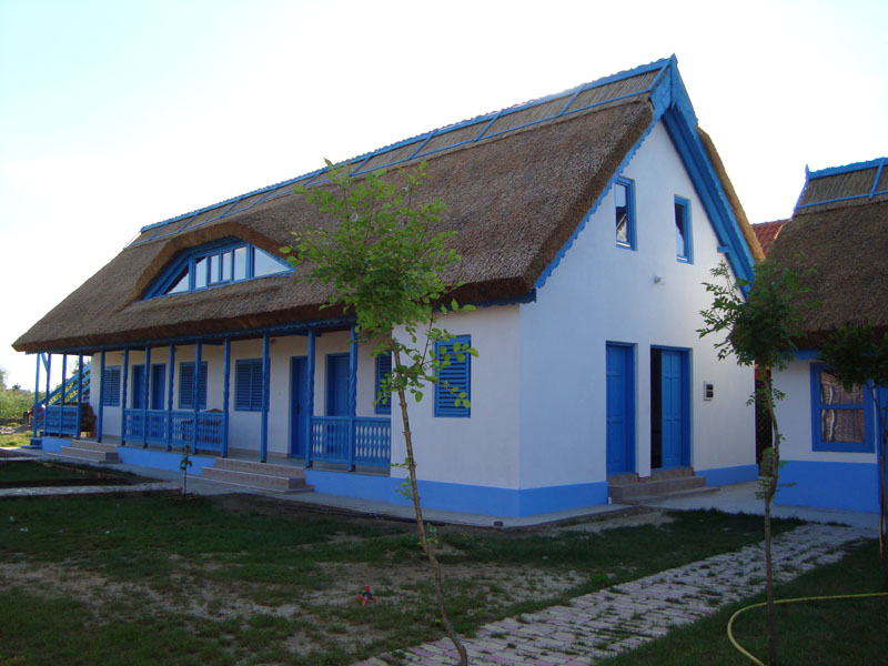case traditionale din delta dunarii traditional Lippovan houses in the Danube Delta 4