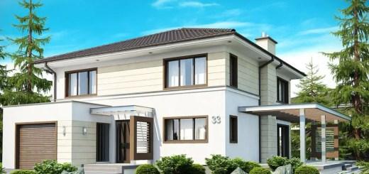 Modele de case cu si fara etaj la oras